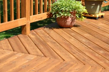 Deck building by Apex Facility Services, LLC