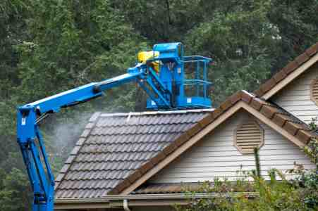Roof Cleaning by Apex Facility Services, LLC
