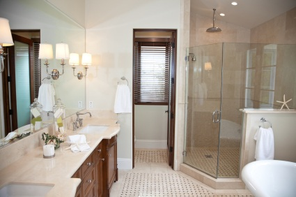 Gardendale bathroom remodel by Apex Facility Services, LLC