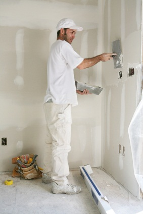 Drywall repair in Leeds, AL by Apex Facility Services, LLC.